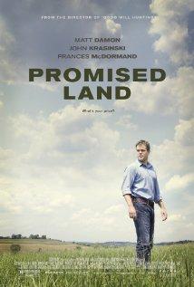 Promised Land movie poster promo matt damon rare frakking film one sheet teaser poster promo rare
