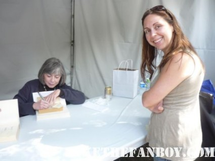 Anne Rice signing autographs for fans rare promo the vampire lestat promo signed book rare
