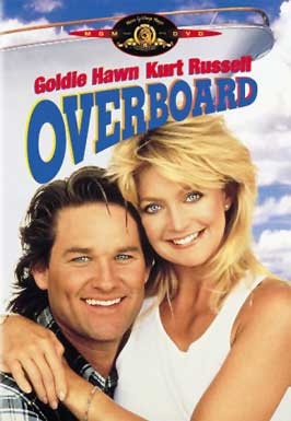 Overboard dvd cover art movie poster promo hot sexy kurt russell goldie hawn rare photo shoot cover