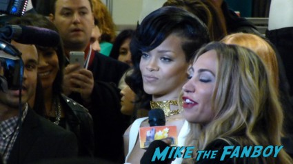 Rihanna Nude perfume meet and greet autograph signing rare perfume bottle macy's rare signing autographs for fans