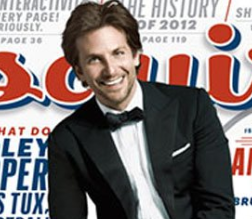 bradley cooper hot sexy esquire magazine december 2012 magazine cover rare silver linings playbook photo shoot rare hangover alias star will tippen