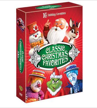 warner bros classic christmas favorites promo dvd