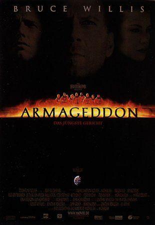 armageddon version one rare movie poster promo one sheet hot bruce willis ben affleck liv tyler rare