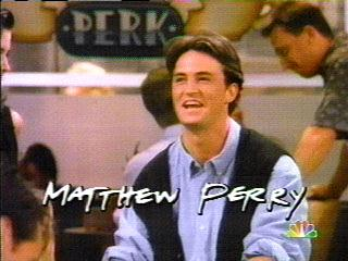 matthew perry rare friends opening title credit sequence rare hot chandler bing rare press photo hot
