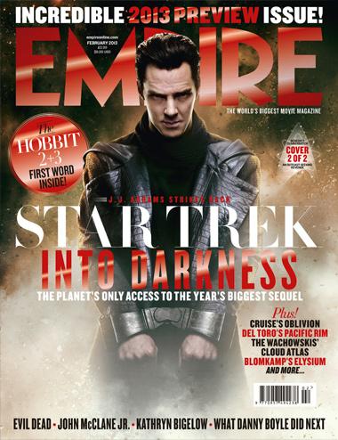 Benedict Cumberbatch empire magazine cover star trek into darkness hot sexy magazine cover in chains rare hot rare