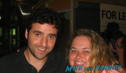 david krumholtz signing autographs for fans rare promo fan photo hot numbers star the santa clause rare promo