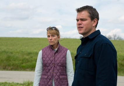 Promised land photo Frances mcdormand and matt damon in a press still from promised land rare hot promo still