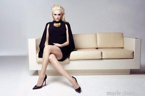 gwen stefani marie claire uk magazine cover hot sexy photo shoot rare retro promo no doubt lead singer rare