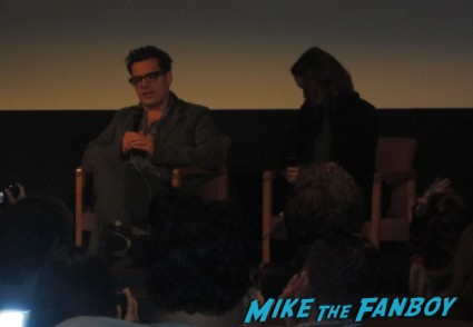 Keira Knightley and Joe Wright q and a for Anna Karenina at the aero theater signed autograph rare promo