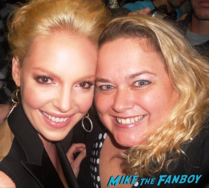 katherine heigl fan photo signing autographs for fans rare promo hot sexy the ugly truth star dance rare