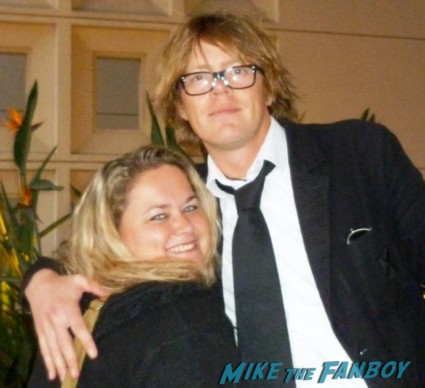 kris marshall hot fan photo signing autographs for fans love actually star rare promo signature