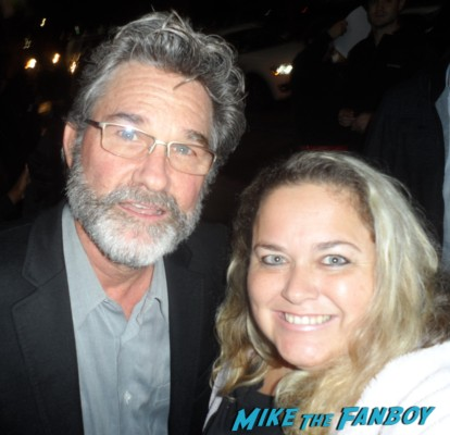 kurt russell photo shoot promo hot sexy fan photo signing autographs for fans kurt russell now 2012 2013 promo snake rare