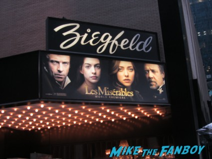 les miserables movie premiere marquee movie premiere rare ziegfeld theater new york city rare
