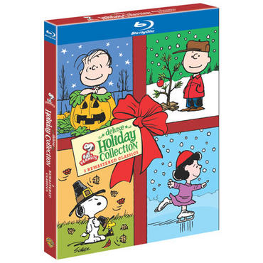 Peanuts holiday collection blu ray cover rare promo