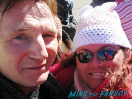 liam neeson hot fan photo rare promo signing autographs for fans rare promo hot unknown star rare