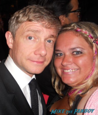 martin freeman fan photo rare hot promo photo the hobbit rare promo signed autograph signing autographs rare promo