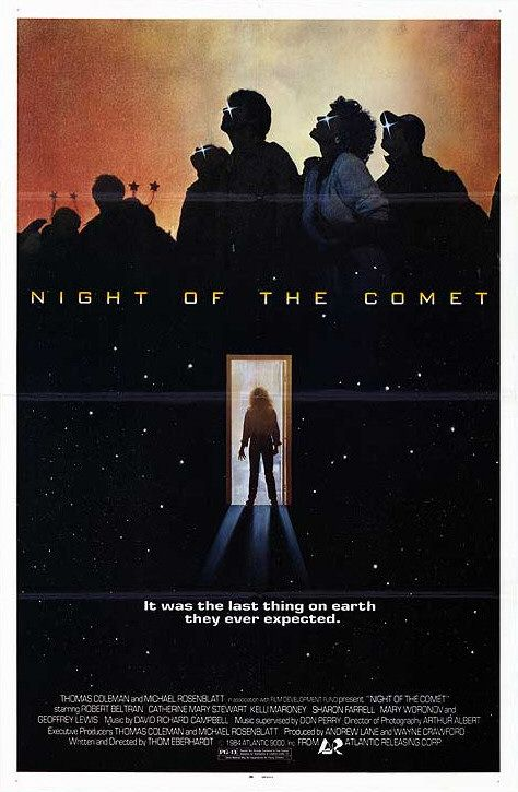 night of the comet rare promo one sheet movie poster promo hot valley girl end of the world