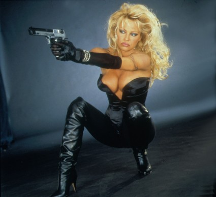 Barb Wire press promo still pamela anderson hot sexy big boobs movie poster one sheet promo pamela anderson rare hot sexy baywatch star sexy rare VIP