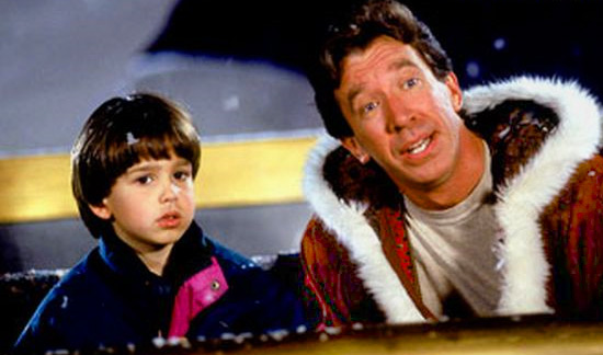 the santa clause promo press still santa claus tim allen as santa rare promo home improvement rare