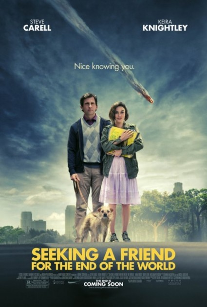 seeking a friend for the end of the world one sheet movie poster promo steve carrell keira knightly