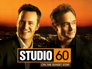 studio 60 on the sunset strip logo cast photo matthew perry fan photo rare friends star chandler bing go on new series rare pinky mike the fanboy