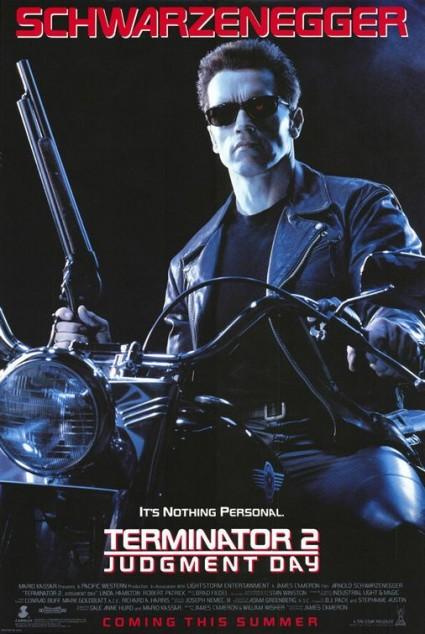 Terminator 2 judgement day teaser poster movie poster promo one sheet rare linda hamilton rare