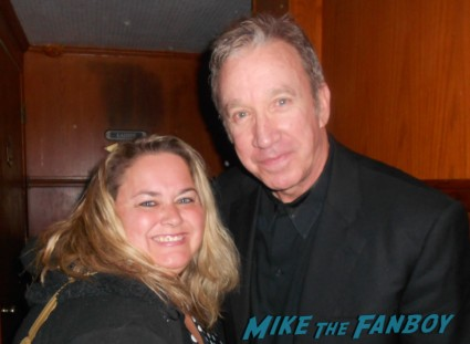 tim allen signs autographs for fans home improvement star the santa clause galaxy quest rare
