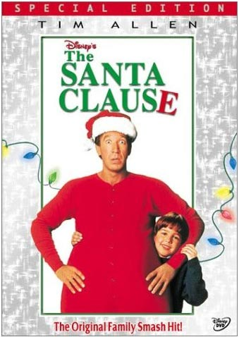The santa Clause one sheet movie poster promo tim allen rare teaser poster hot sexy santa clause