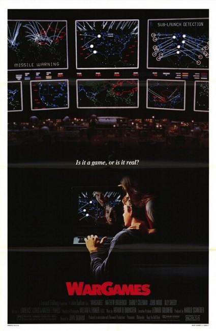 War Games movie poster teaser poster promo one sheet matthew broderick wargames movie poster