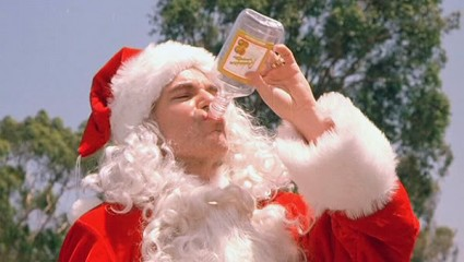 Billy Bob Thornton lauren graham bad santa press promo still rare christmas classic promo photo hot rare