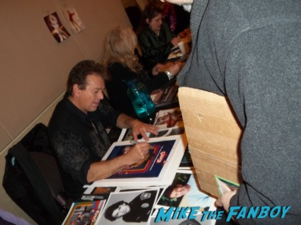 grease 2 star adrian zmed signing autographs for fans rare promo johnny grease broadway star rare hot now 2012