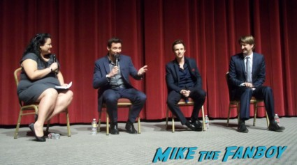 Men of les miserables hugh jackman eddie redmayne tom holland hot sexy q and a rare movie review panel promo