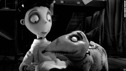 frankenweenie tim burton press promo still rare sparky hot promo stop motion animated classic rare