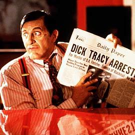 al pacino big boy 1990 dick tracy cast photo rare promo  dick tracy press still al pacino Warren Beatty Dick Tracy Press Promo Movie Still Rare promo hot sexy comic book come to life