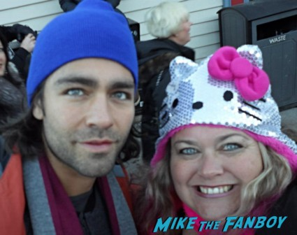 Adrian Grenier Fan Photo signing autographs for fans sundance film festival 2013 hot sexy star rare promo