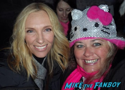 toni collette Fan Photo Sundance Film Festival signed autograph rare promo hot sexy star