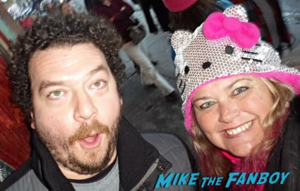 Danny McBride Fan Photo signing autographs for fans sundance film festival 2013 hot sexy star rare promo