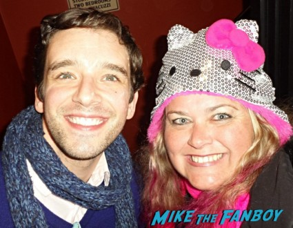 michael urie Fan Photo signing autographs for fans sundance film festival 2013 hot sexy star rare promo
