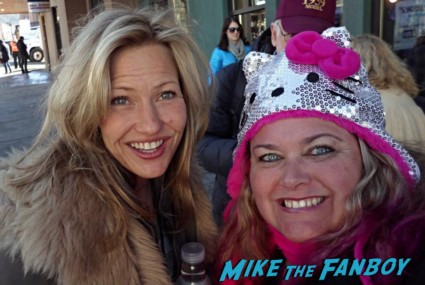 Joey Lauren Adams Fan Photo signing autographs for fans sundance film festival 2013 hot sexy star rare promo