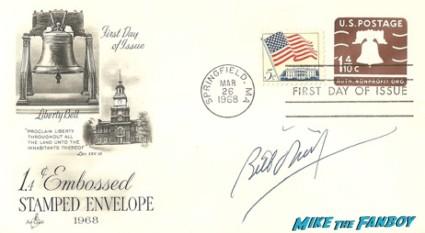 Bill O'Reilly signed autograph promo postcard hot fox news anchor columnist