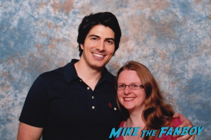 Brandon Routh fan photo rare promo hot sexy superman returns photo shoot signed autograph fan photo rare
