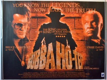 Bubba Ho-Tep promo movie poster uk quad poster promo bruce campbell ossie davis elvis