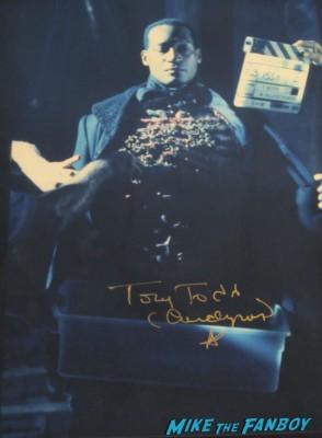 tony todd signed autograph candyman photo press promo still signature rare promo hot sexy horror star