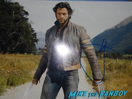 hugh jackman signed autograph wolverine photo hot sexy x men star promo photo shoot hottie sexy photo