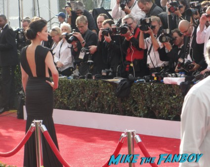 jamie alexander on the red carpet at the 2013 sag awards rare promo extra e entertainment television