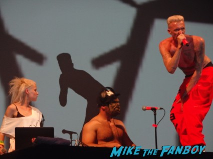 Die Antwoord live in concert rare promo hot sexy The Fox Theater Pomona CA August  9, 2012! Photo Gallery!
