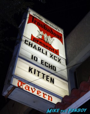 Charli XCX live concert the troubadour los angeles ca live concert review photo gallery rare promo hot sexy press photo