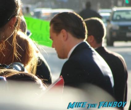 leonardo dicaprio signing autographs at the  inception movie poster  at te  inception movie premiere with tom hardy leonardo dicaprio ellen page joseph gordon levitt rare promo red carpet promo