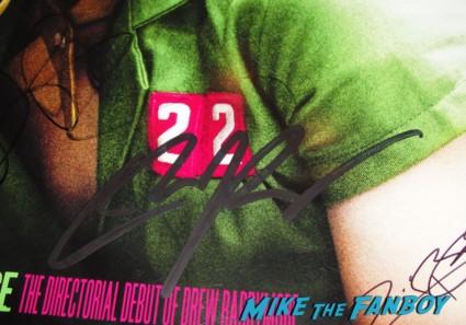 ellen page signed autograph at the  inception movie poster  at te  inception movie premiere with tom hardy leonardo dicaprio ellen page joseph gordon levitt rare promo red carpet promo