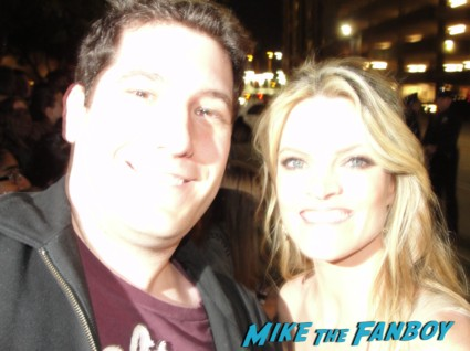 Missi Pyle fan photo signing autographs for fans rare mike the fanboy promo the artist galaxy quest star hot sexy blonde